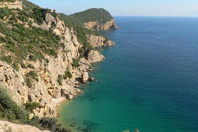 pobřeží Thassosu (nahrál: Alena Melicharová)