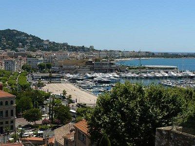 Starý přístav 2 - Pohled z kopce Suquet od kostela de la Castre (nahrál: Vladimír Dohnal)