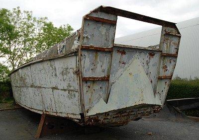 vyloďovací člun u Omaha Beach (nahrál: Blanka Sadílková)