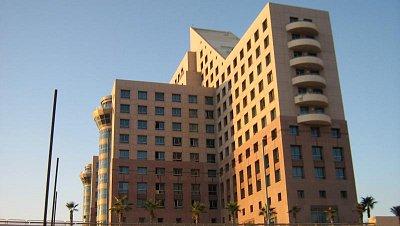 hotel Meridyan - v Haifě na pláži 2008  (nahrál: honza)