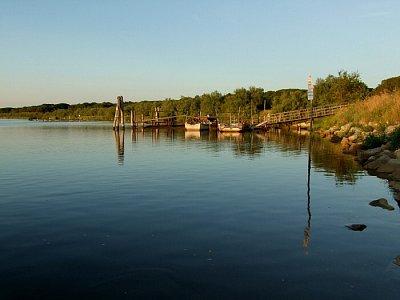 Laguna - Před západem slunce nabízí Lido di Volano romantické procházky (nahrál: JaFi)