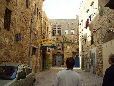 Izrael - Uličky v Akku (nahrál: František)