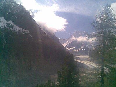 Ledovec pod Mont-Blanckem (nahrál: pepini)