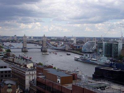 Pohled na Tower Bridge (nahrál: admin)