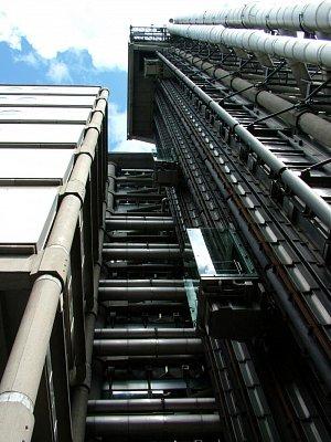 Budova pojišťovny Lloyds - detail (nahrál: admin)