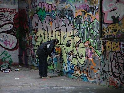 Pouliční umělec (nahrál: admin)