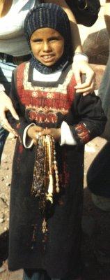 Holčička v beduínském oděvu (nahrál: admin)