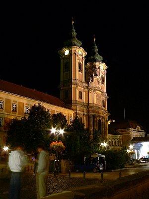 Eger - barokní kostel (nahrál: ADAM MORAVEC)