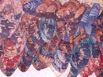 Ukázka tradičního umění - masky (nahrál: admin)