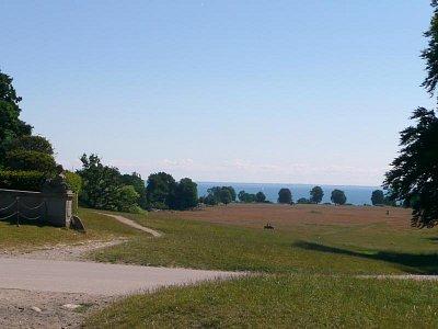 pohled na moře od zámku (nahrál: Lenka Hoblíková)