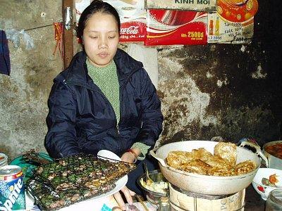 Hanoj-pouliční restaurace (nahrál: admin)
