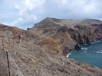 Poloostrov Ponta de Sao Lourenco - Z treku po poloostrově (nahrál: jannak)