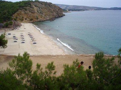 Pláž u Pefkari (nahrál: KačaDOD)