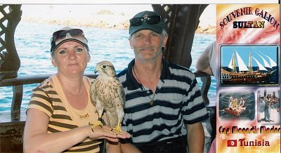 S manželem na výletní pirátské lodi. (nahrál: kůzlenka)