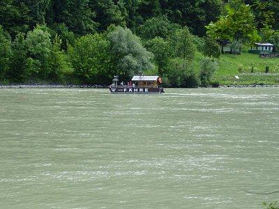Převoz přes Dunaj. (nahrál: Jechort)
