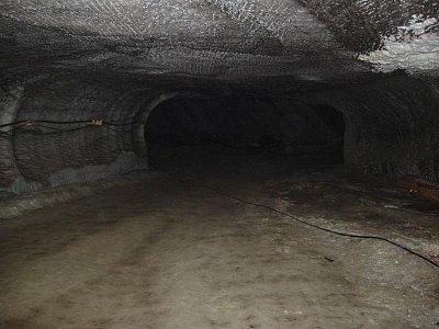 Solotvino - v solném dole 360 m pod povrchem země (nahrál: Kamil Hainc)