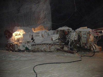 Solotvino - těžební stroj (nahrál: Kamil Hainc)
