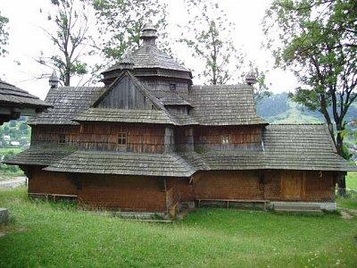 Jasiňa - Strukivskaja cerkev (nahrál: Kamil Hainc)