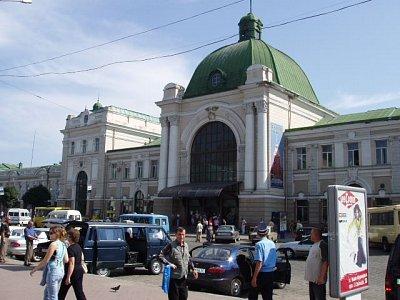 Ivano-Frankovsk - železniční nádraží (nahrál: Kamil Hainc)