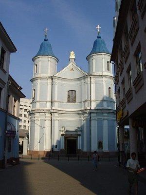 Ivano-Frankovsk - arménský kostel (nahrál: Kamil Hainc)