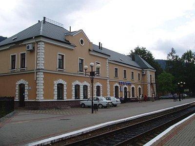 Jaremča - železniční nádraží (nahrál: Kamil Hainc)