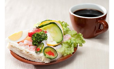 "The famous Danish ""smørrebrød\"" - Smørrebrød - the delicious Danish open sandwich