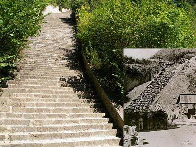 Mauthausen - Pověstné schody (nahrál: Seklem)