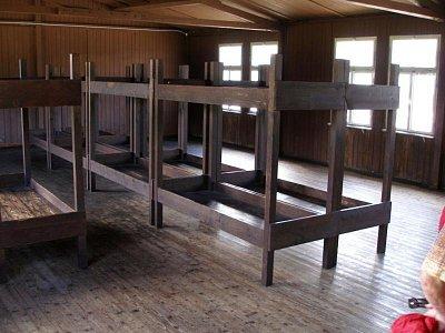 Mauthausen - místnosti v táboře (nahrál: Seklem)