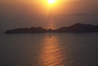 Západ slunce nad Agios Stefanos (nahrál: Tylínek)