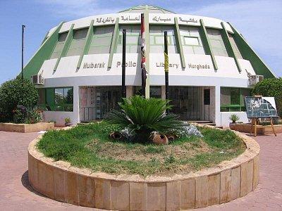 veřejná knihovna - Hurghada (nahrál: dagbul)