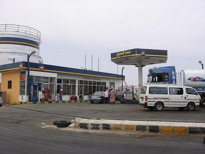 benzínová pumpa Hurghada (nahrál: dagbul)