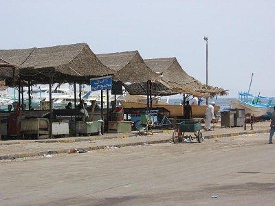 trh s rybama Hurghada (nahrál: dagbul)