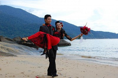 Tioman Island - šťastní novomanželé (nahrál: Tioman)