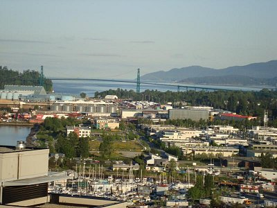VANCOUVER - GATE LIONS BRIDGE (nahrál: jirka)