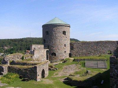 Pevnost Bohuslan  - Kousek nad Goteborgem. Pěkná hladomorna a nikdy tato pevnost nebyla dobita. Střecha je z cca 2m vrstvy kamene. (nahrál: josef Vágner)