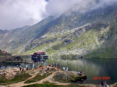 Fagaraš - jezero Balea (nahrál: Blažena Čepelová)