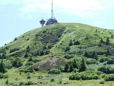 Puy de Dome - Pohled na horu (nahrál: Jechort)