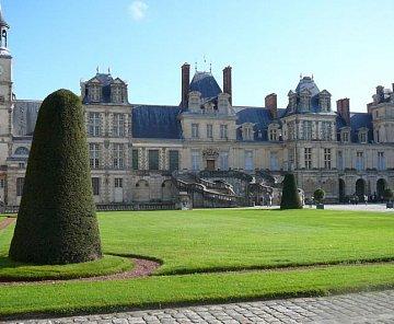 Fontainebleau říjen 2009