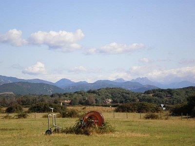 Korsika-jihozápad  - pohled od Porto-Polla do vnitrozemí (nahrál: Vlaďka)