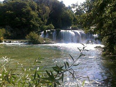 Vodopady v nar.parku (nahrál: Petr Bacak)