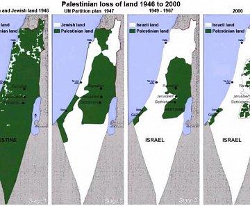 Z cesty po okupovaných územích Palestiny