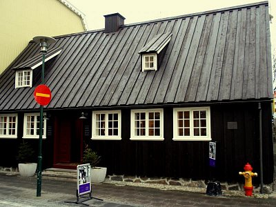 Reykjavík,nejstarší dům v městě (nahrál: petras21)