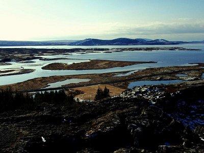 jezero Pingvallavatn (nahrál: petras21)