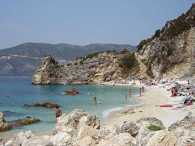 Agiofili beach (nahrál: Věrka)