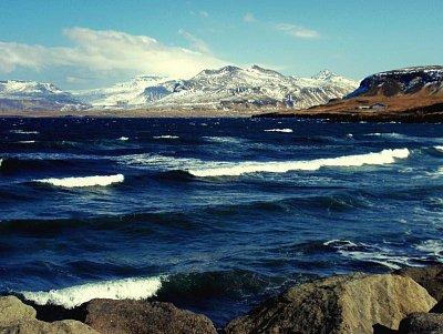 Ólafsvík,zátoka - pobřeží Atlantiku (nahrál: petras21)