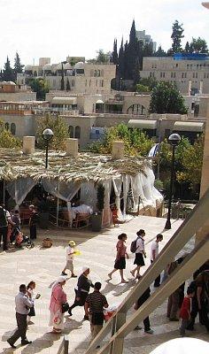 Jeruzalém-Sukkot-svátek stánků (nahrál: Dorothea)