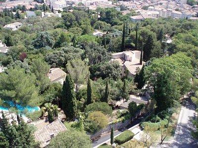 Nimes - pohled z velké věže na město (nahrál: Eva Víšková)