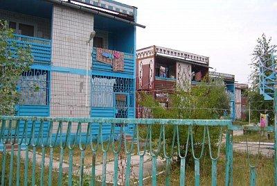 Cemp u Azovského Moře  - Ubytování v cempu u Azovského moře  (nahrál: Iwana)