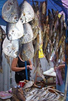 Azovské moře  - Tržnice u Azovského moře s mořskými produkty  (nahrál: Iwana)