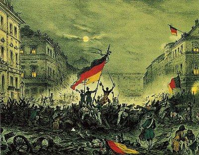 Berlínská březnová revoluce - Berlínská březnová revoluce. Zdroj: Wikipedia.org (nahrál: admin)